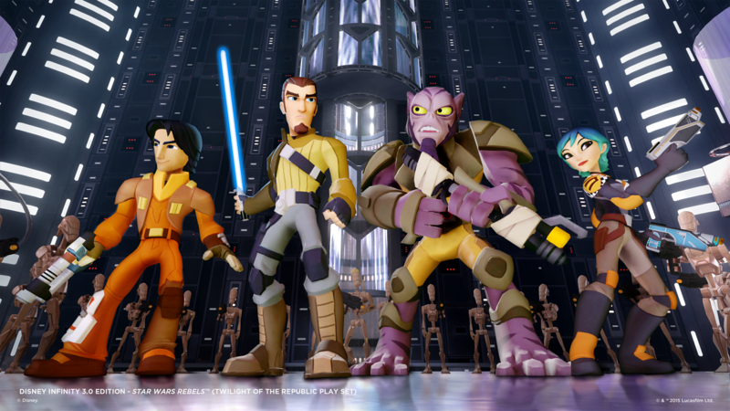 STAR WARS REBELS Ezra Disney Infinity figure exclusive release to Toys'R'Us this weekend