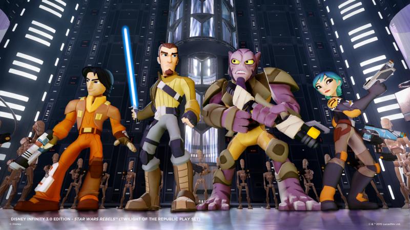 STAR WARS REBELS Ezra Disney Infinity figure exclusive release to Toys'R'Us this weekend