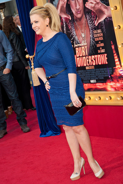 HOLLYWOOD, CA - MARCH 11: Actress Melissa Joan Hart attends the premiere of Warner Bros. Pictures' 'The Incredible Burt Wonderstone' at TCL Chinese Theatre on Monday, March 11, 2013 in Hollywood, California. (Photo by Tom Sorensen/Moovieboy Pictures)