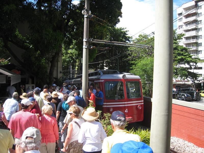 Tram to Corcovado, Rio de Janeiro, Brazil