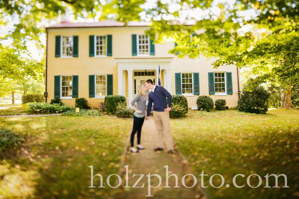 Amy & Jon Color Engagement Photos