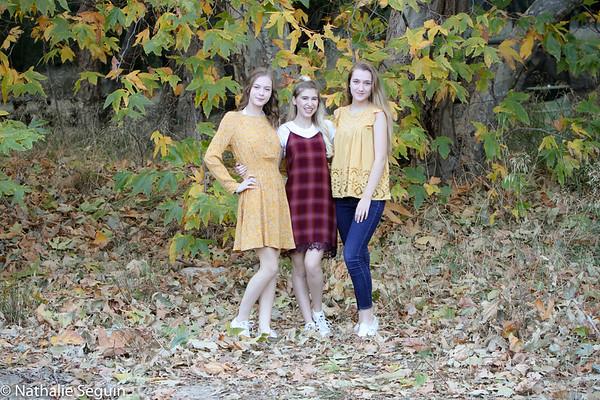 Christina, Hannah & Madeline - November 2018