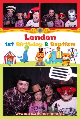 London 1st Birthday