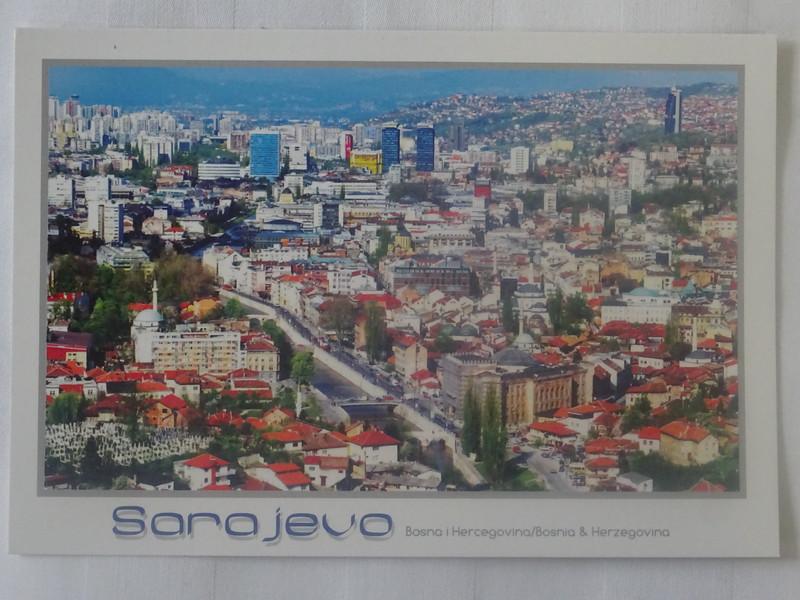 04_Sarajevo. Panorama. Southwestern Europe. The Balkan Davos.JPG
