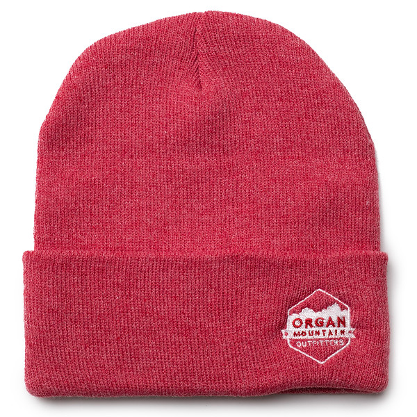 Outdoor Apparel - Organ Mountain Outfitters - Hat - 12 Inch Knit Beanie - Heather Red.jpg