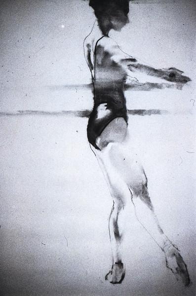 Study for Royal Ballet Student I (c1980s)
