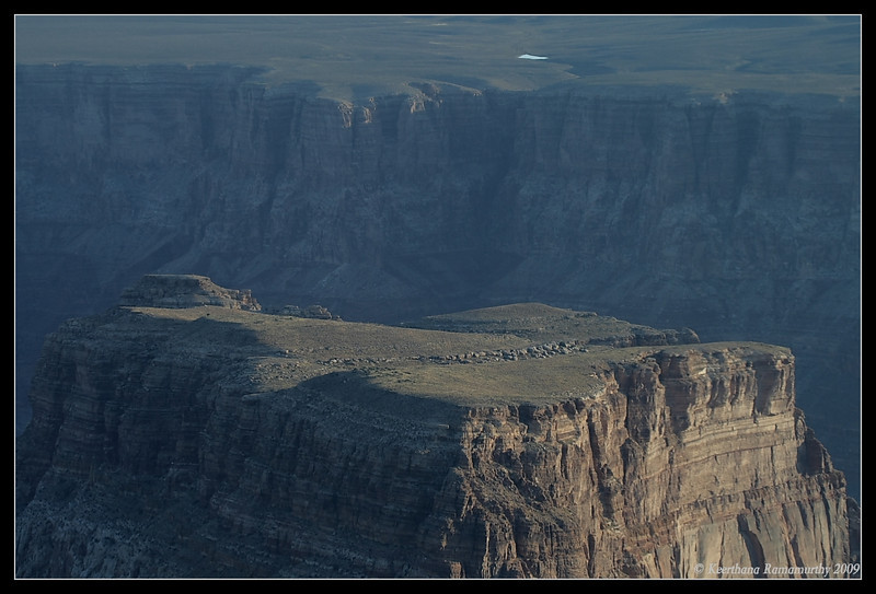 Sacred Plateau for American Indians as they believe God dances  on this, Grand Canyon, Arizona, September 2009