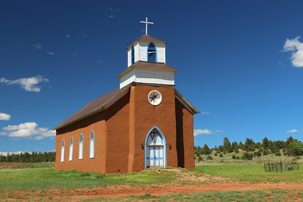 Church Tour of North-Central New Mexico