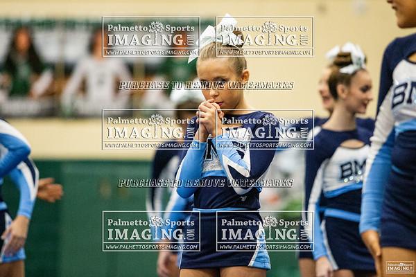 Beechwood Middle School cheer-Silverfox Invitational