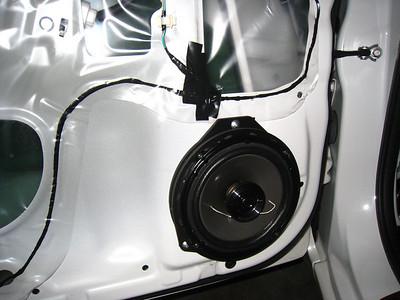 2009 Subaru Impreza R Front Speaker Installation - Australia