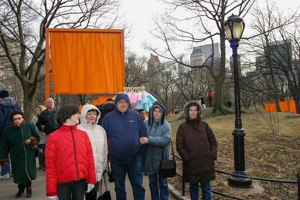The Gates in Central Park - 2004