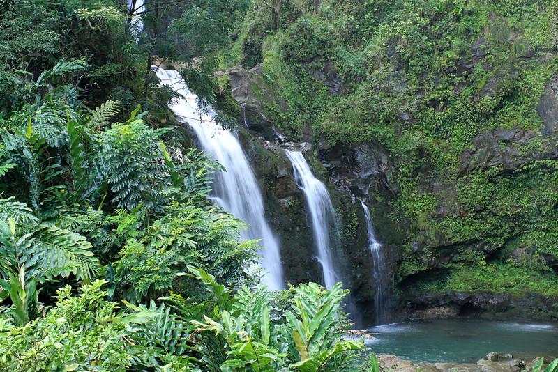 Upper Waikani Falls