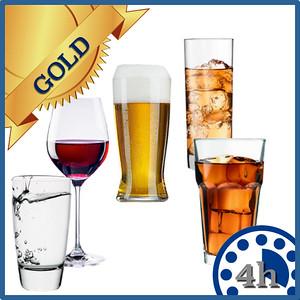 43104 Open bar Gold