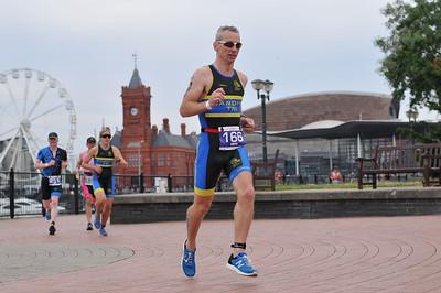 Cardiff Triathlon - Olympic Men Run 8-46 to 9-28