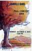 2015-10-05 Granville High School Bands Fall Concert