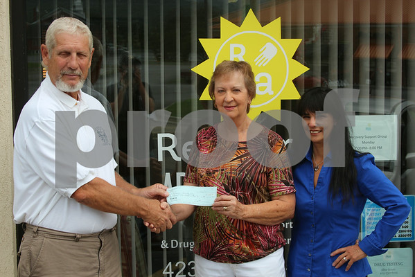 Donation to Recover Appalachia - July 2014