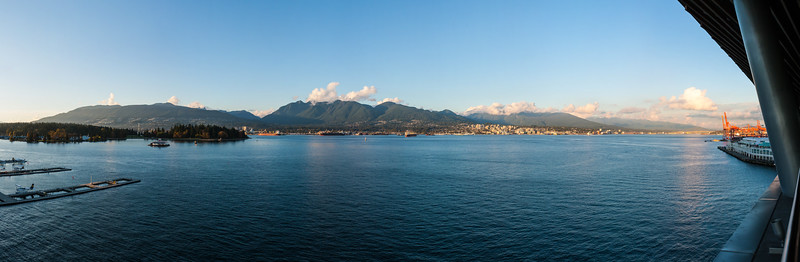 Vancouver Harbour in the Evening