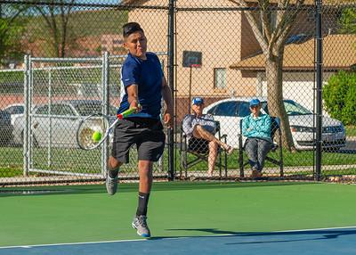2019-04-13 Dixie HS Tennis - Daniel Brown