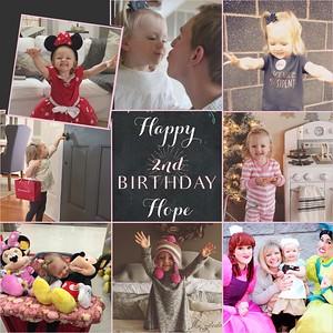 Hope 2nd Birthday