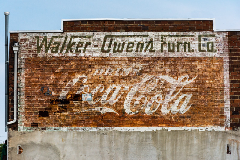 GA, Conyers - Coca-Cola Wall Sign 05