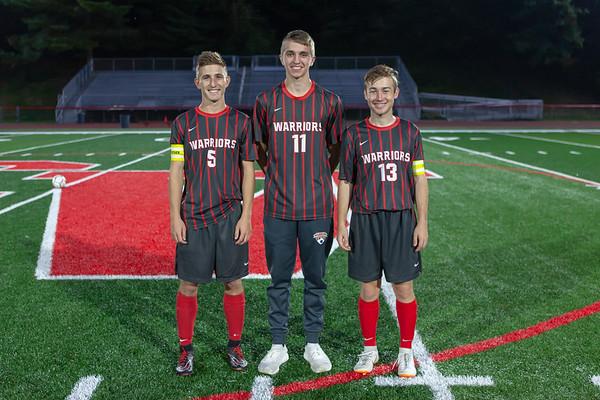 10-09-18  Boys Soccer Sr. Recognition