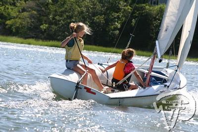 Jr. Sailing — morning — 8 . 9 - 2007