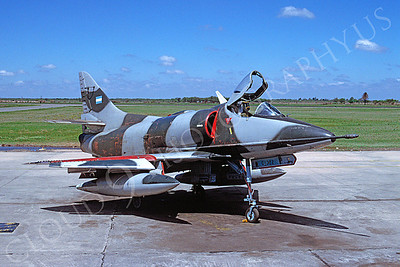 Argentinian  Navy Douglas A-4 Skyhawk Attack Jet Military Airplane Pictures for Sale