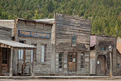 Virginia City & Nevada City Ghost Towns