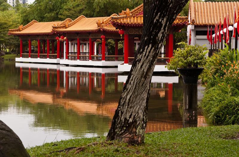 Chinese garden structure