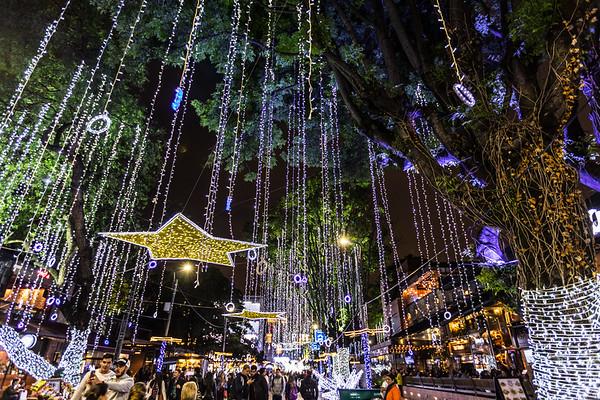 Christmas Lights at Zona T (2016-12)