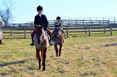 Junior Meet Copperfield Farm 121915