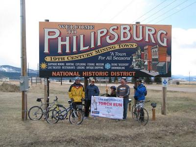 Drummond to Philpsburg Torch Run 2011