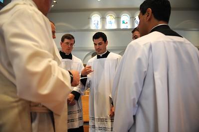 Fr. Victor Perez' Thanksgiving Mass