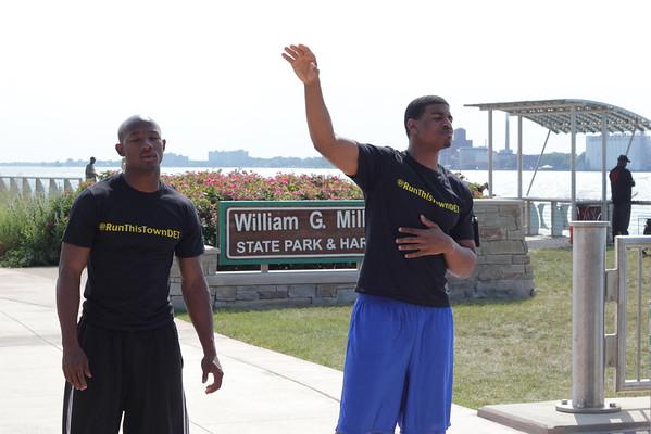 Run This Town Detroit | Riverwalk | Rivard Plaza