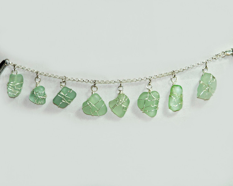 Light Green Beach Glass