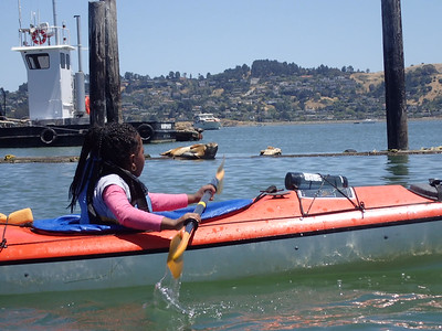 SFPD Wilderness Program with Gilman Rec Connect on June 13, 2017