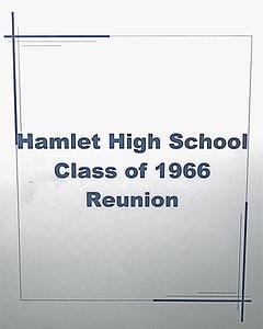 Hamlet High School-Class of 1966 Reunion 7-24-10