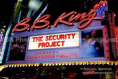 The Security Project 12.21.15 at BB Kings NYC