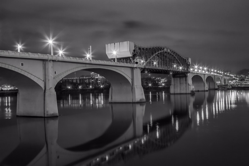 Drawbridge Across the Tennessee River