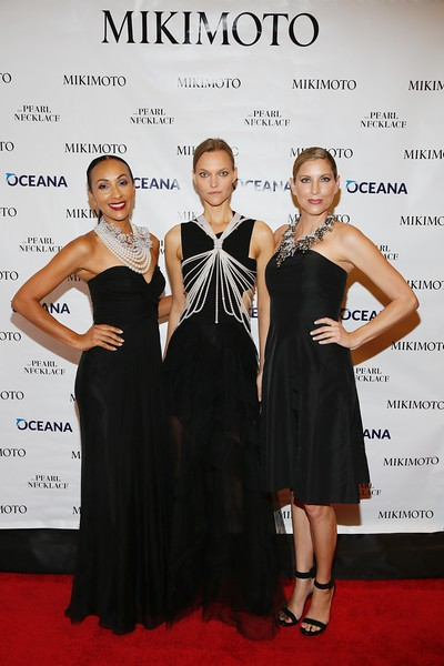 """Mikimoto and OCEANA debut """"The Pearl Necklace"""" installation at South Coast Plaza, Costa Mesa, America - 13 Oct 2016"""
