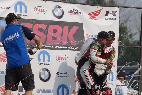 July 11, 2015: CSBK Race Day Round 3