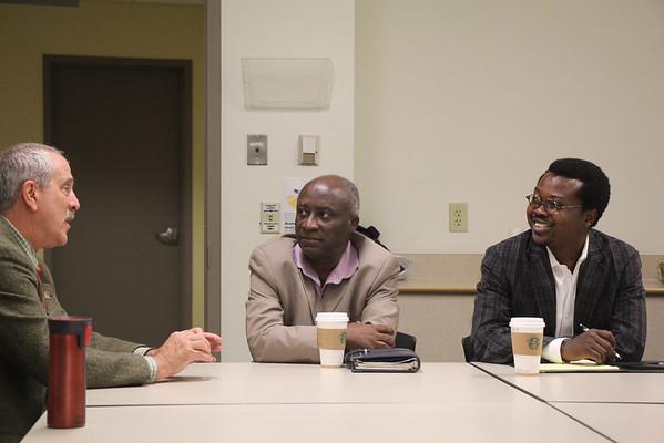 Martin Luther Health Training School Visit Oct. 2014