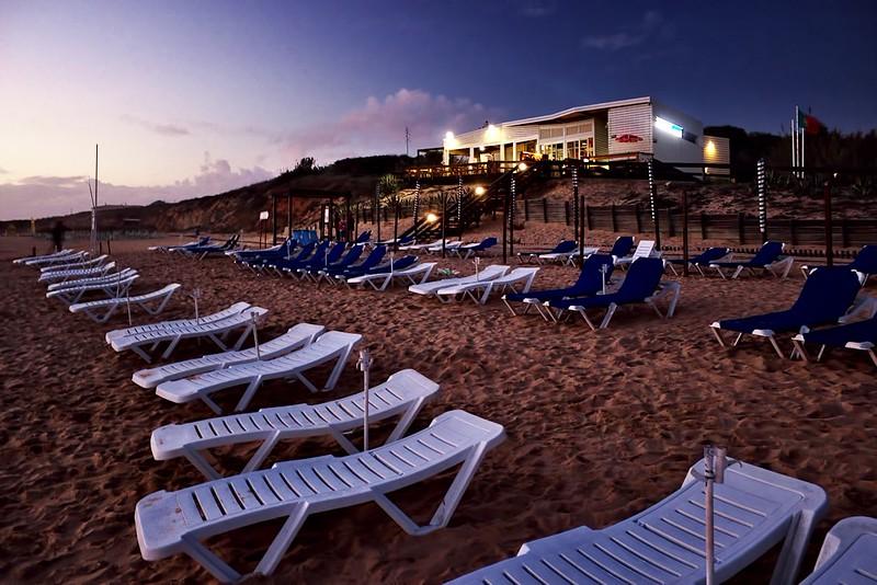 Pláž Galé za soumraku