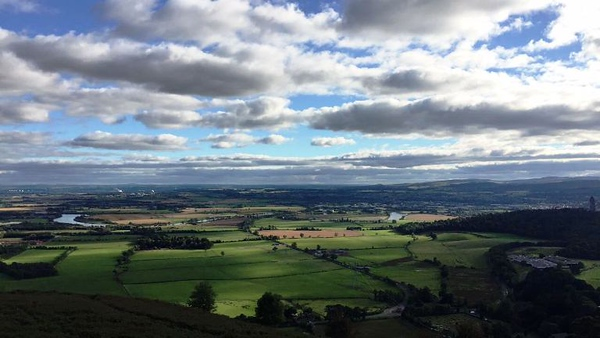 view of Stirling countryside