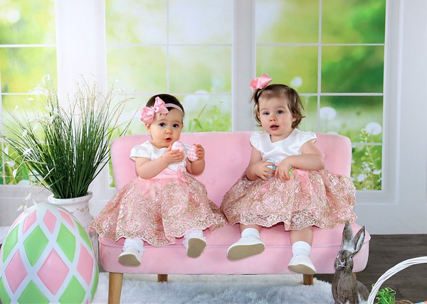 Madelyn & Anastasia | Easter 2021