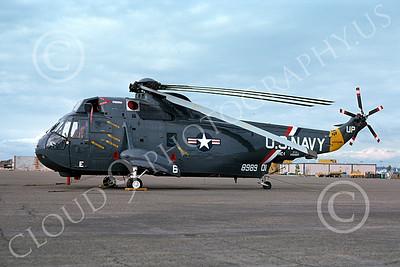 U.S. Navy SH-3 Sea King Helos in Bicentennial Color Scheme