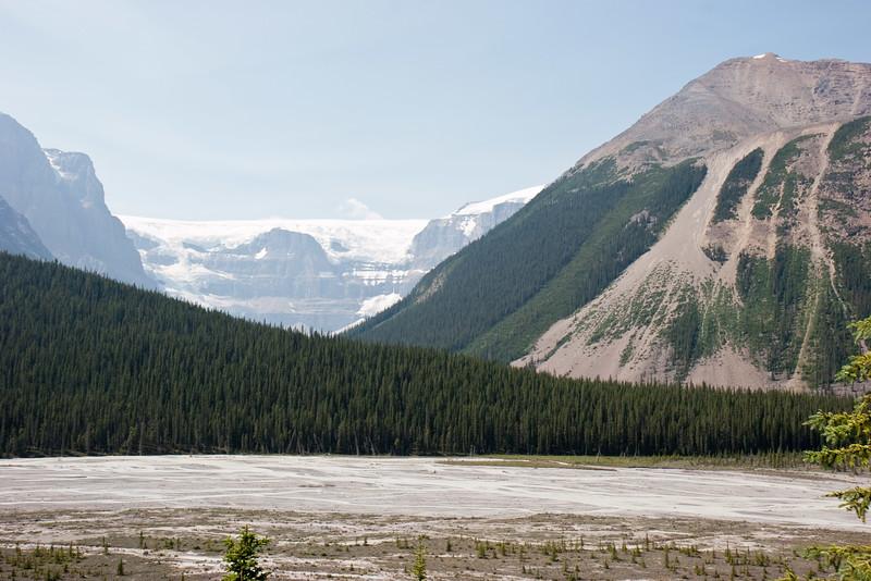 Glacier-capped Mountains