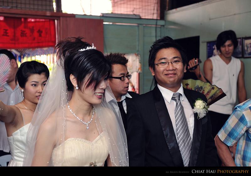 Wei is happy here... YEAH!