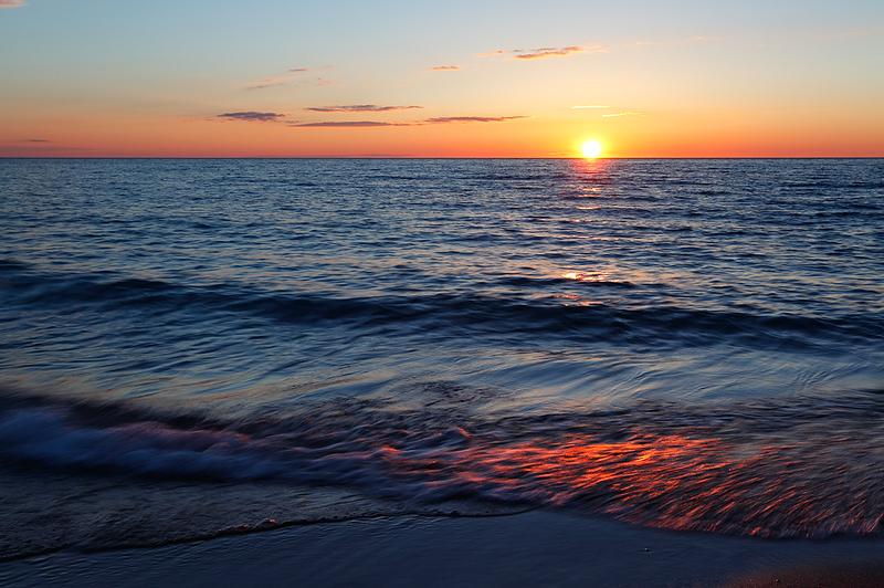Esch Road Beach Sunset (Sleeping Bear Dunes National Lakeshore - Michigan)