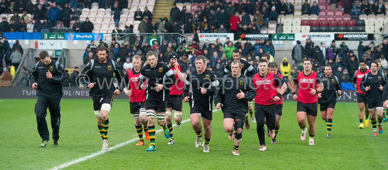 Northampton Saints vs Castres Olympique, European Rugby Champions Cup, Franklin's Gardens, 14 January 2017